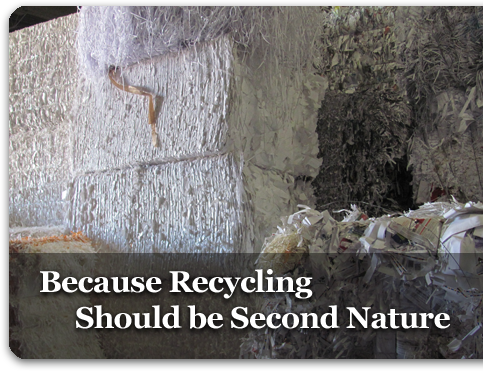 Because Recycling Should be Second Nature
